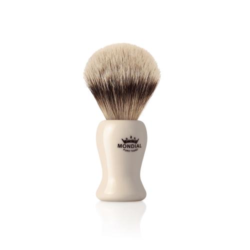Четка за бръснене с естествен косъм от супер язовец