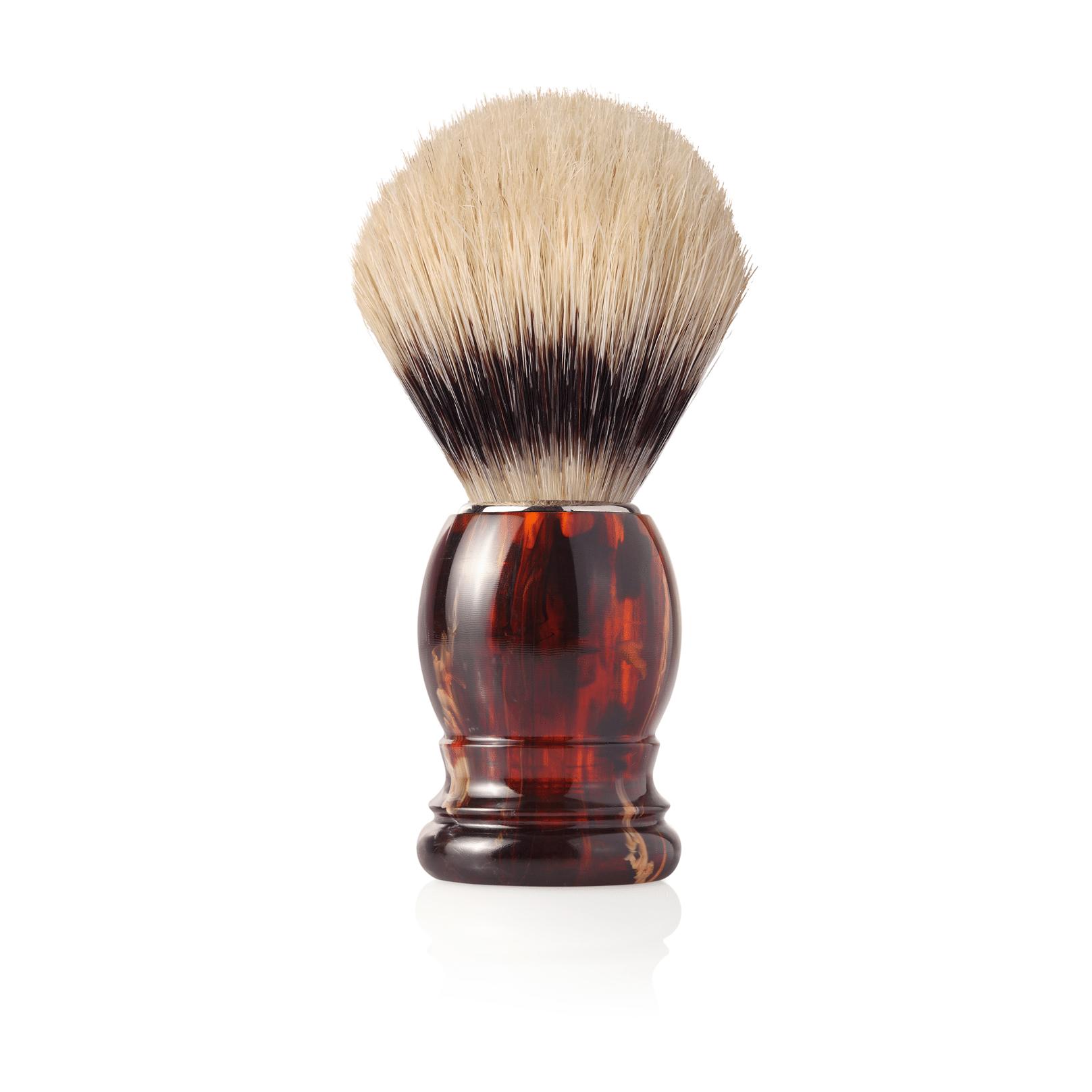 Четка за бръснене с естествен свински косъм