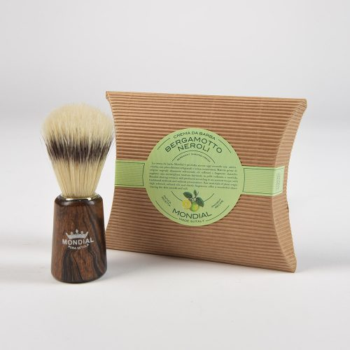 Четка за бръснене с естествен избелен косъм