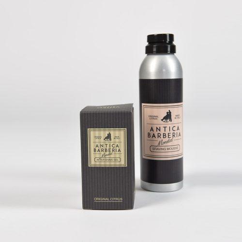 Пяна за бръснене+Хидратиращ гел за след бръснене