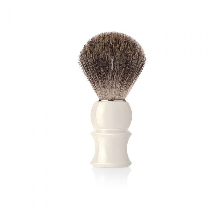 Четка за бръснене в цвят слонова кост