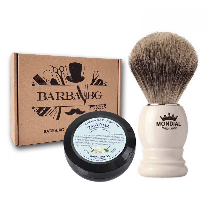 Четка за бръснене Fine badger + ПОДАРЪК