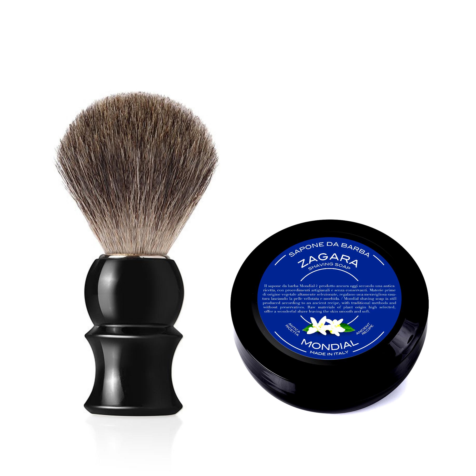 Четка за бръснене Gray Badger + подарък